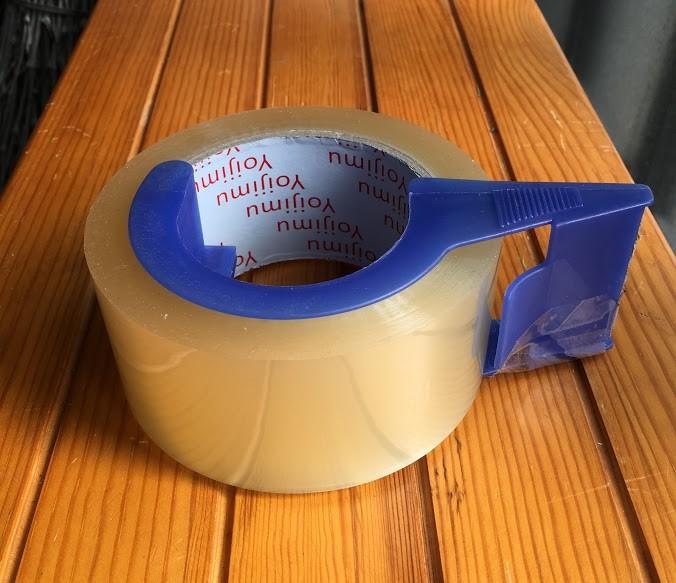 おすすめガムテープホルダーとガムテープ